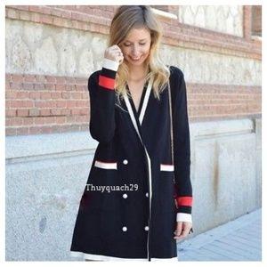 0ddfda257bcd1 Zara Jackets   Coats - Zara double breasted jacket with pearl button